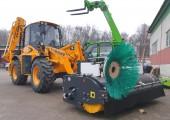 VENIERI VF 10.23C c подметальной щеткой поставлена крупному заказчику в Вологодской области.