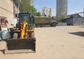 Поставка экскаватора-погрузчика VF 1.33B в Водоканал Московской области