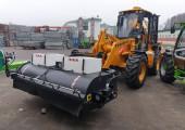 Подготовка к отгрузке VENIERI VF 10.23C c подметальной щеткой крупному заказчику в Вологодской области